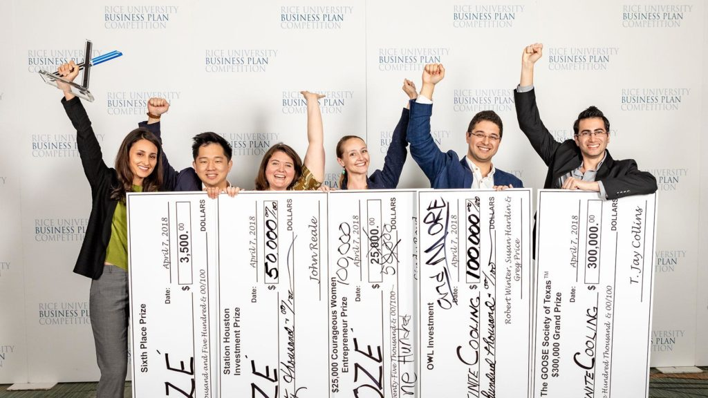 rice business plan competition 2017 winners